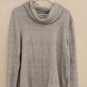 Soft Lounge Tunic with Cowl Neck